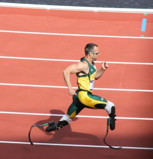 Oscar Pistorious - London 2012